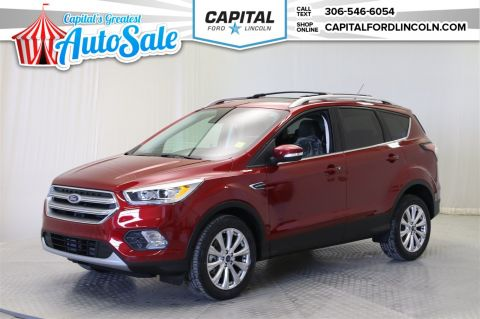 New 2017 Ford Escape Titanium Sport Utility 4WD