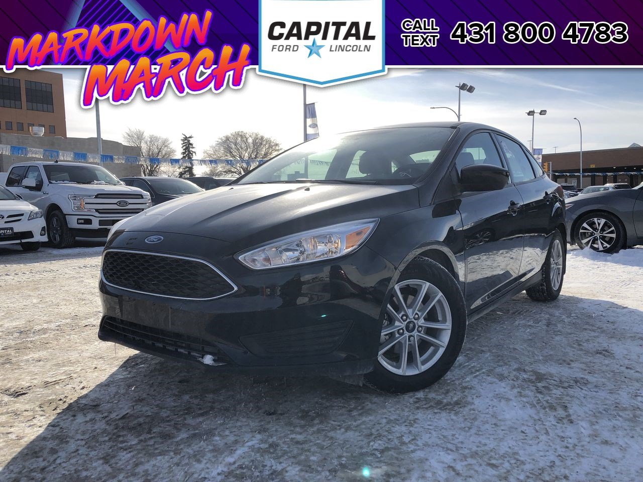 Certified Pre-Owned 2018 Ford Focus SE FORD CERTIFIED PRE-OWNED 2.9% OAC