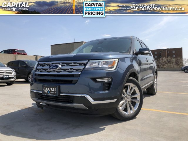 New 2019 Ford Explorer Limited*Heated Seats*Navigation*Tow Pkg