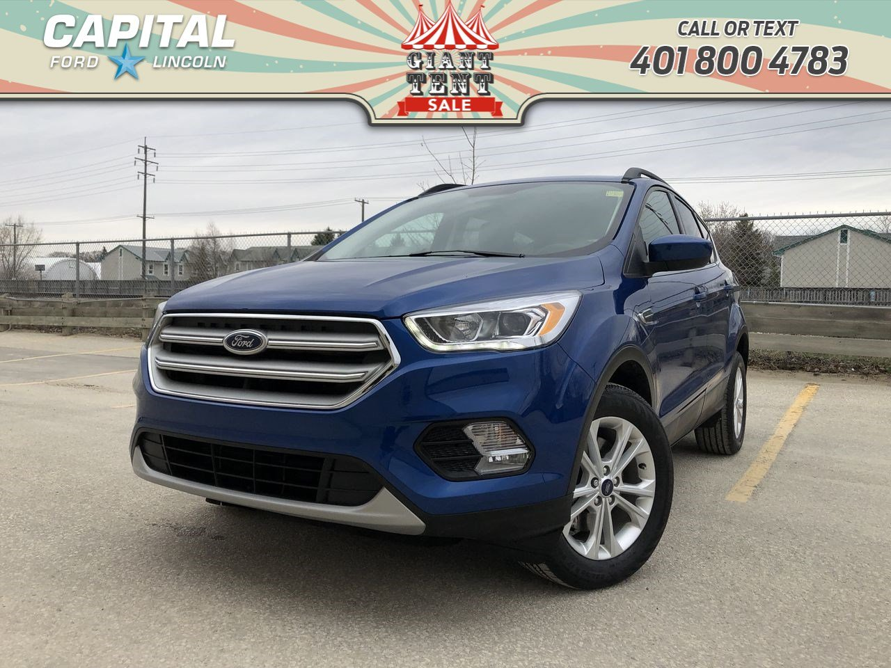 Pre-Owned 2018 Ford Escape SEL 4WD LEATHER ASK US ABOUT THE 1.9% FINANCE