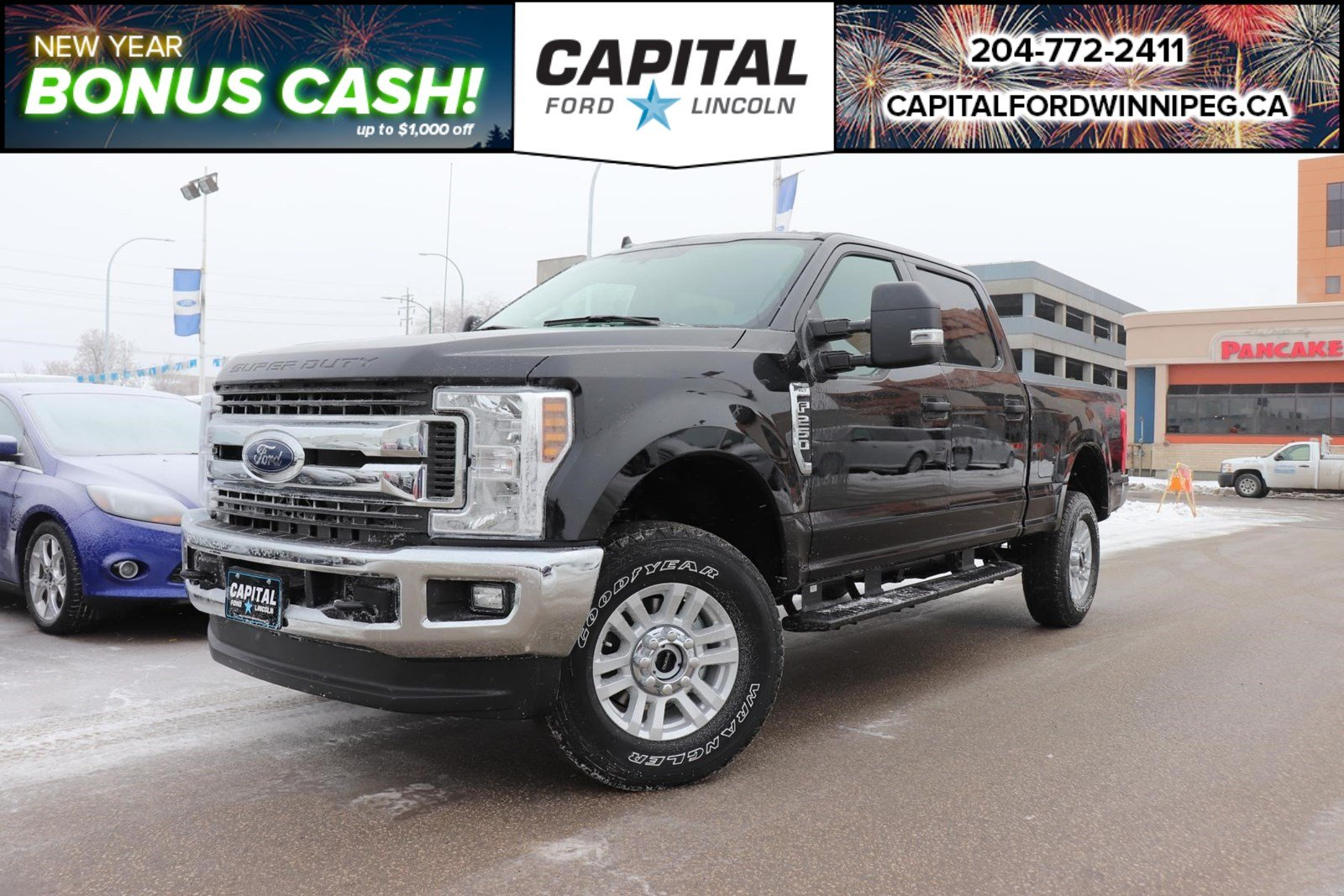 New 2019 Ford F-250 Gas XLT*FX4*6.2L Gas Engine*Ford Pass