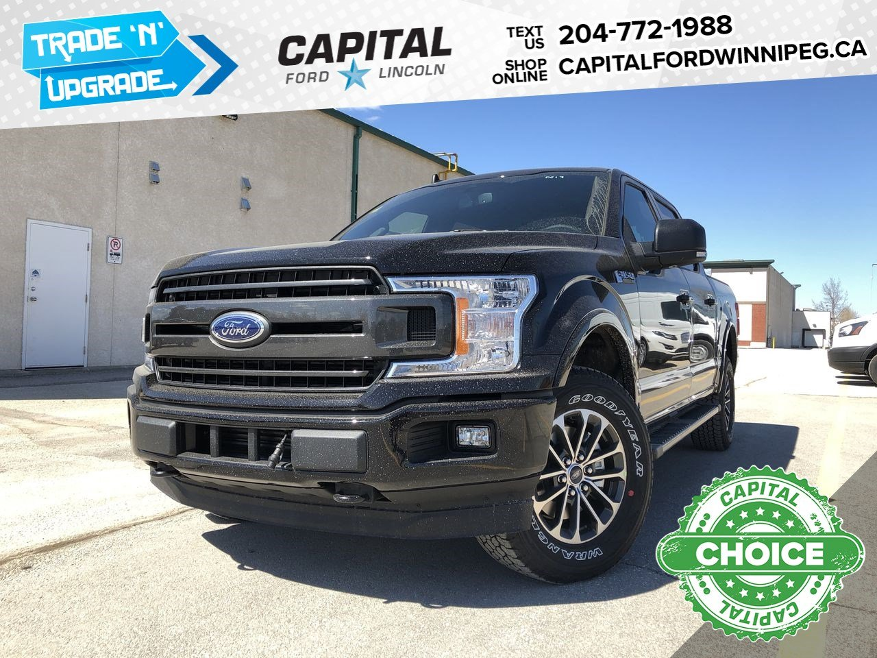 New 2019 Ford F-150 XLT*Sport*3.5L*Heated Seats*Tow Pkg*Upgraded Wheels & Tires*Bluetooth