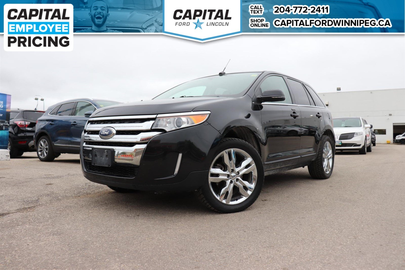 Pre Owned  Ford Edge Limited Local Lease Return