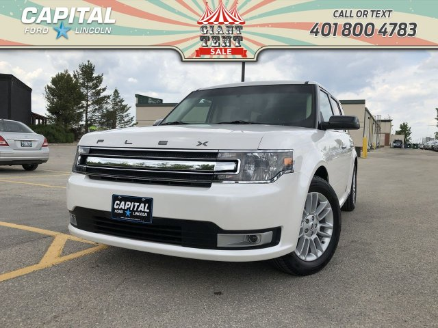 Pre-Owned 2018 Ford Flex SEL AWD LEATHER SUNROOF NAV REMOTE START