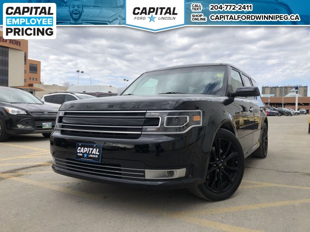 Pre-Owned 2018 Ford Flex Limited EcoBoost AWD RETIRED MGR DEMO