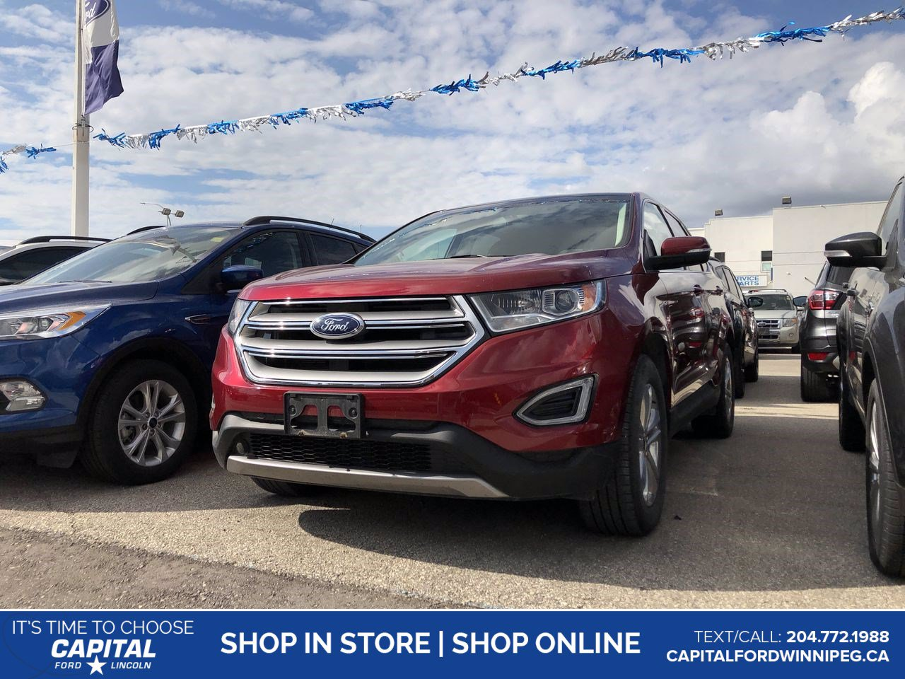 Pre-Owned 2017 Ford Edge SEL AWD *Ask About 2.9%!