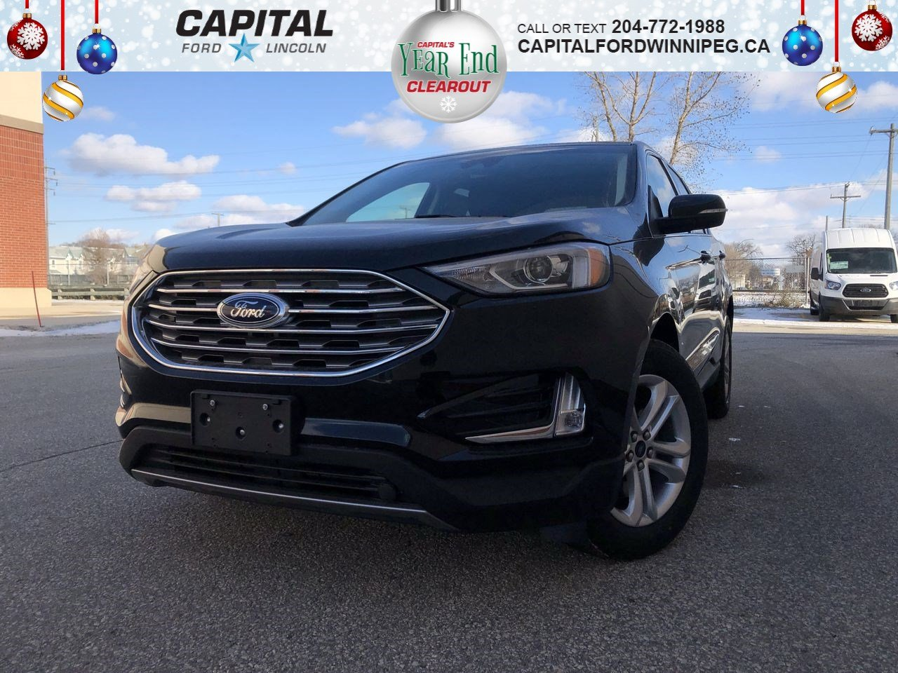 New 2019 Ford Edge SEL*AWD*Navigation*Heated Seats*Panoramic Roof*Rearview Camera