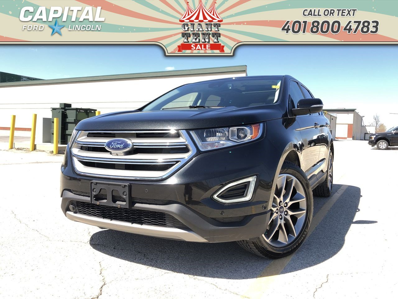 Pre-Owned 2015 Ford Edge Titanium AWD 302A LOCAL ONE OWNER TRADE