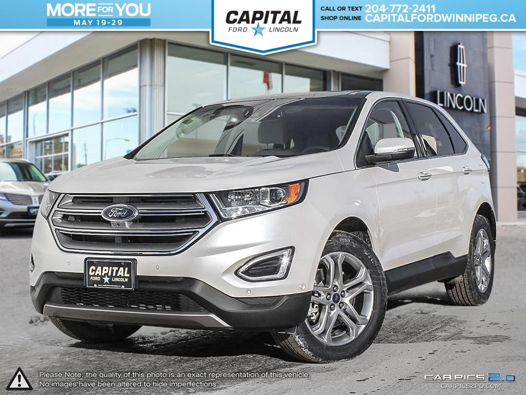 new 2017 ford edge titanium awd sport utility in winnipeg p0909 capital ford winnipeg. Black Bedroom Furniture Sets. Home Design Ideas