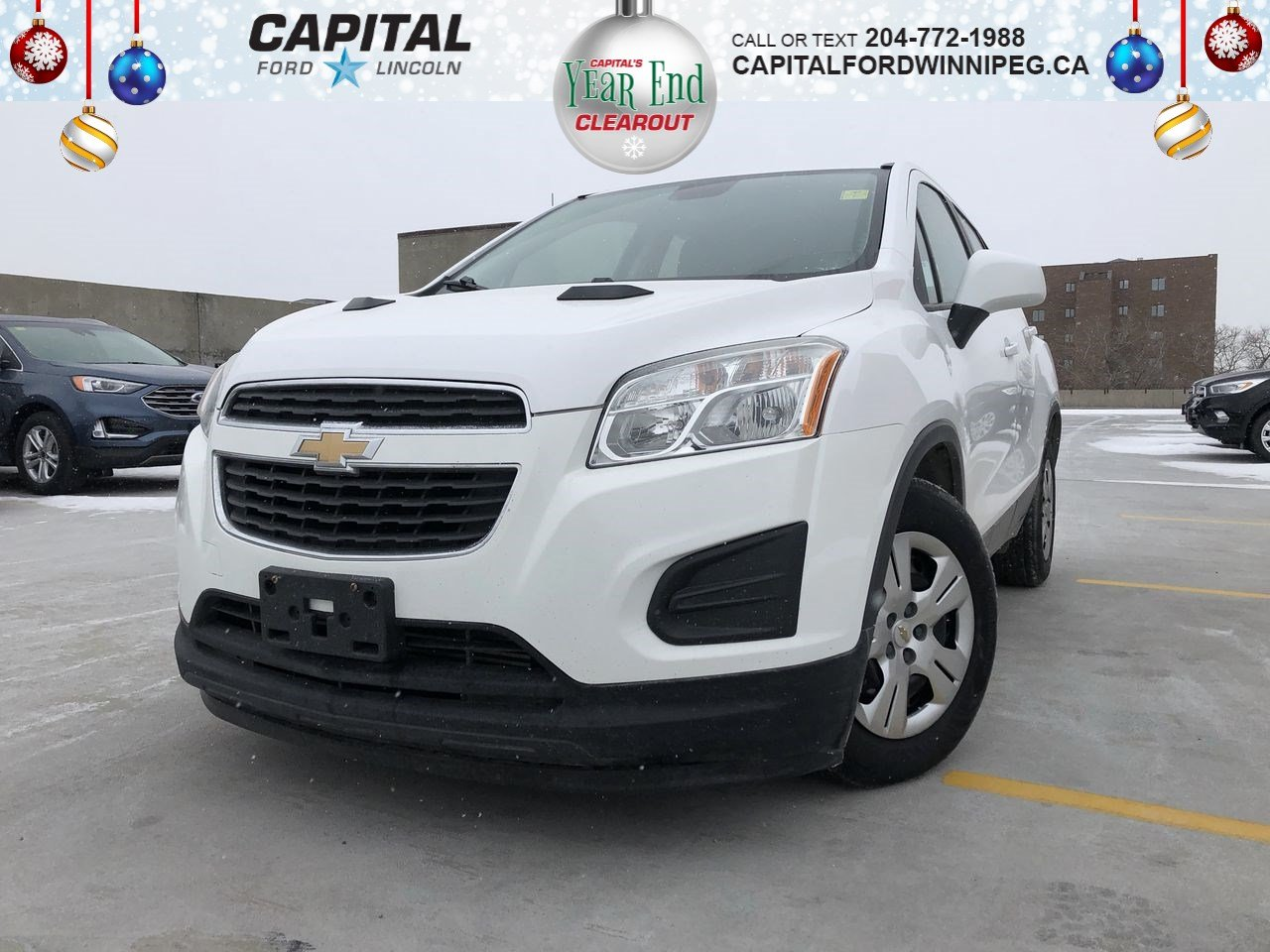 Chevrolet Suv 2015 >> Pre Owned 2015 Chevrolet Trax Ls Fwd Suv Stock P2403a