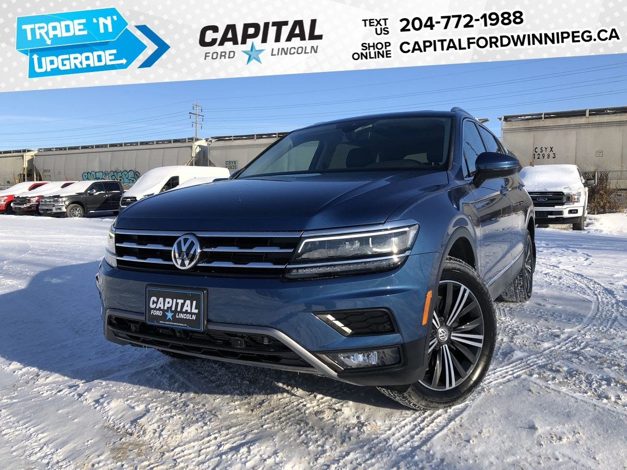 Pre-Owned 2018 Volkswagen Tiguan Highline
