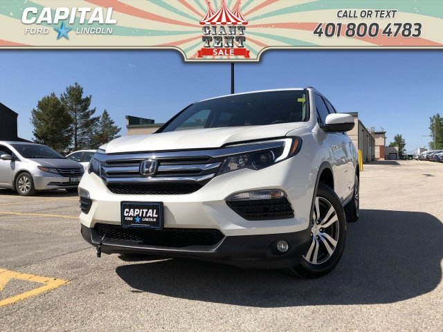 Pre-Owned 2017 Honda Pilot EX-L LOCAL TRADE REAR ENTERTAINMENT SYS