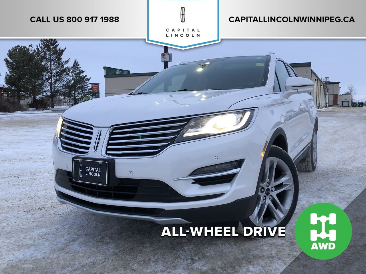 Pre-Owned 2017 Lincoln MKC Reserve AWD TECH PKG, TOUR PKG