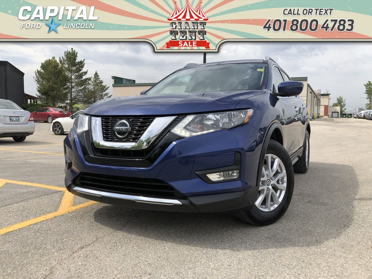 Nissan Rogue Remote Start >> Pre Owned 2018 Nissan Rogue Sv Awd Remote Start Heated Seats Bluetooth Awd Stock U0781a
