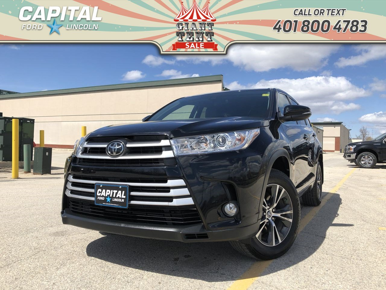Toyota Highlander Lease >> Pre Owned 2017 Toyota Highlander Le Awd Local Lease Return Remote