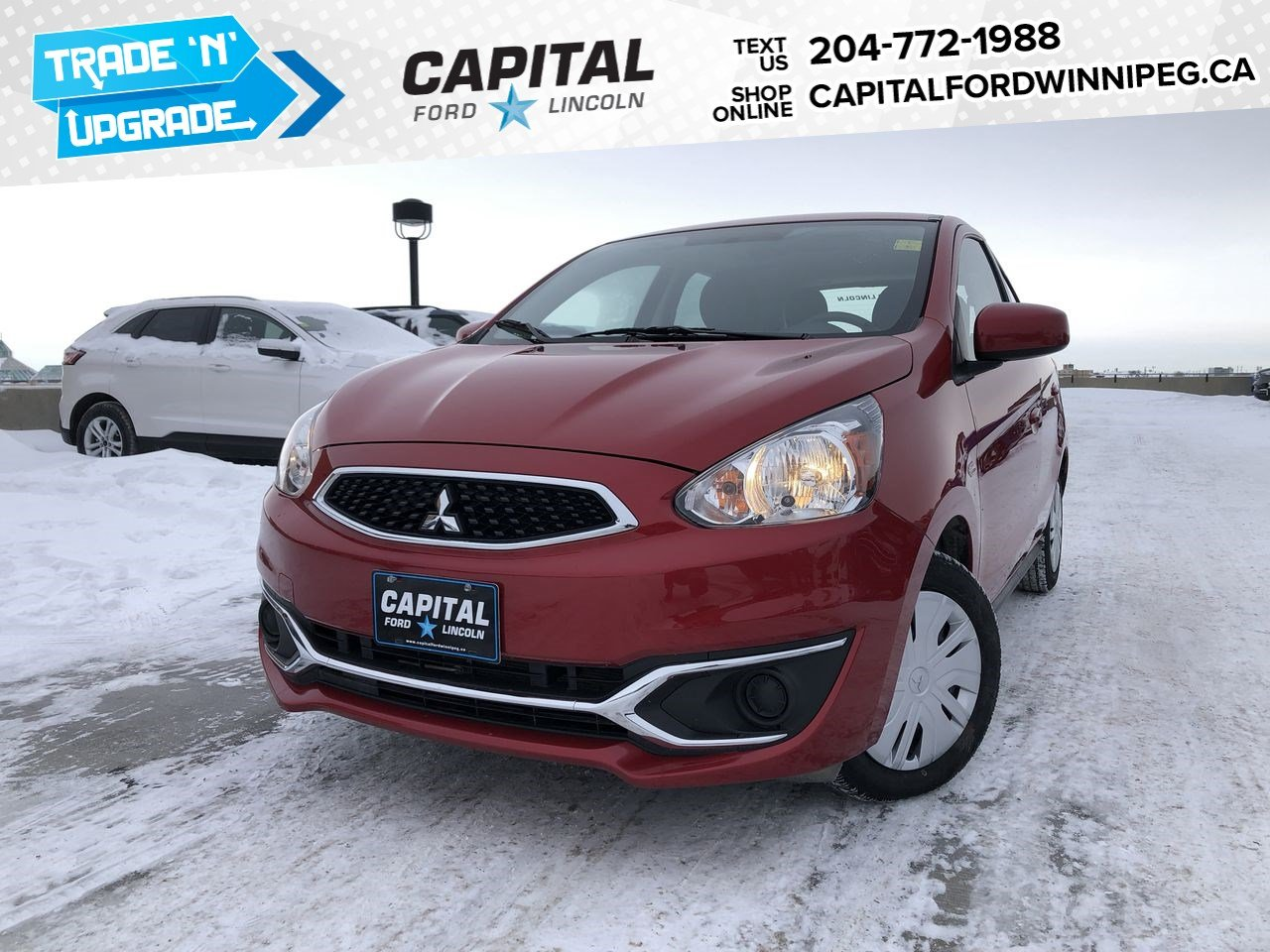 Pre-Owned 2019 Mitsubishi Mirage ES HB **New Arrival**