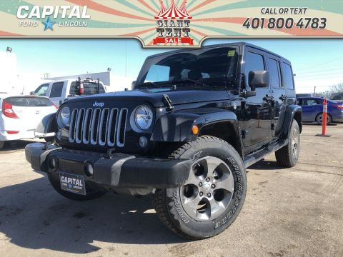 Pre-Owned 2018 Jeep Wrangler JK Unlimited Sahara W/ HEATED SEATS / REMOTE START