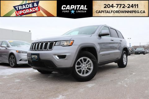 Pre-Owned 2018 Jeep Grand Cherokee Laredo CAR PLAY 7INCH TOUCH SCREEN