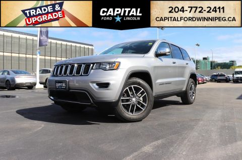Pre-Owned 2018 Jeep Grand Cherokee Limited SUNROOF, LEATHER, REMOTE START