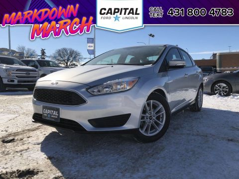 Pre-Owned 2017 Ford Focus SE LOCAL ONE OWNER TRADE HTD SEATS & STEERING