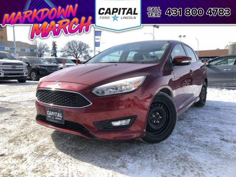 Pre-Owned 2015 Ford Focus SE LOCAL ONE OWNER TRADE SUNROOF REMOTE START