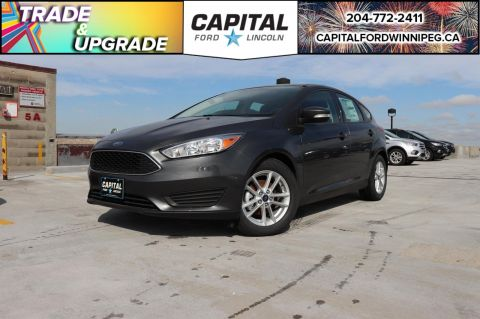 Pre-Owned 2018 Ford Focus SE BRAND NEW ONLY 50KM HEATED STEERING MANAGER'S SPECIAL!