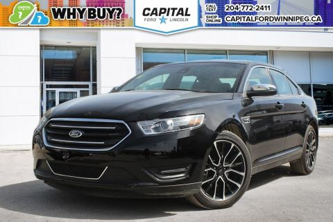 Pre-Owned 2017 Ford Taurus Limited AWD LEATHER NAV