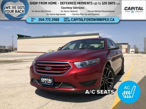 Pre-Owned 2019 Ford Taurus Limited AWD Sunroof Leather (SEE DESCRIPTION!)