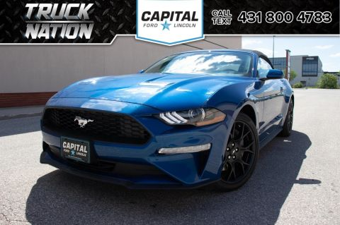 New 2018 Ford Mustang EcoBoost*Automatic*Convertible*Navigation*EcoBoost