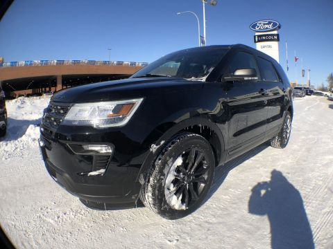 New 2019 Ford Explorer XLT*Moonroof*Heated Seats*Navigation*Appearance Pkg
