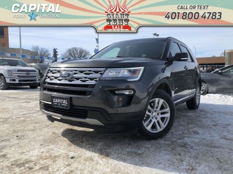 New 2019 Ford Explorer XLT*Ford Pass Remote Start*Navigation*Power Liftgate