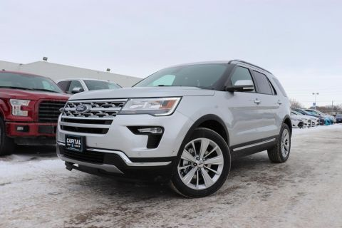 New 2019 Ford Explorer Limited*Moonroof*Navigation*Leather*Tow Pkg
