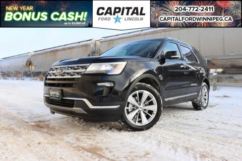New 2019 Ford Explorer Limited*Navigation*Leather*FordPass