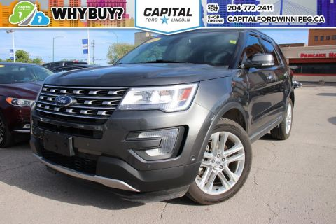 Pre-Owned 2017 Ford Explorer Limited TECH PACKAGE SUNROOF