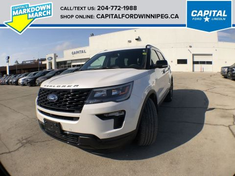 Pre-Owned 2018 Ford Explorer Sport **New Arrival**