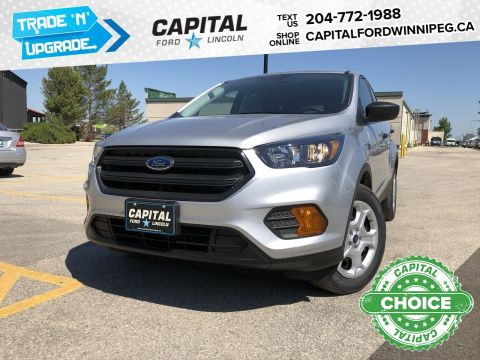 New 2019 Ford Escape S*Reverse Camera*SYNC Voice Activated System*2.5L