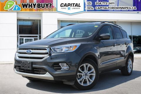 Pre-Owned 2017 Ford Escape SE W/ HEATED SEATS & REVERSE CAMERA