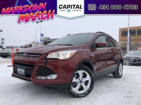 Certified Pre-Owned 2016 Ford Escape SE 4WD FORD CERTIFIED PRE-OWNED 1.9% OAC