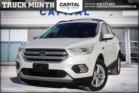 New 2018 Ford Escape SEL Sport Utility 4WD