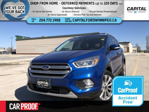 Pre-Owned 2017 Ford Escape Titanium 4WD Ask About 1.9% Rate