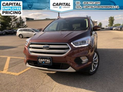 Pre-Owned 2018 Ford Escape Titanium 4WD