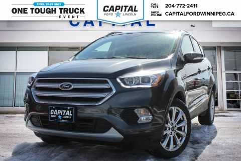 New 2018 Ford Escape Titanium Sport Utility With Navigation & 4WD