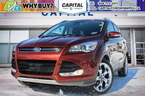 Pre-Owned 2015 Ford Escape Titanium SUNROOF NAV BLIS