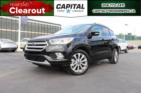 Pre-Owned 2018 Ford Escape Titanium 4WD W/ REMOTE START / HEATED LEATHER / REVERSE CAM