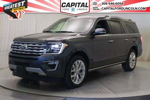 New 2018 Ford Expedition Limited Max