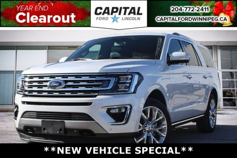 New 2018 Ford Expedition Limited Max*HUGE Savings!*Moonroof*Fully Loaded