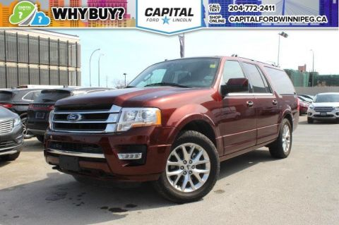 Pre-Owned 2017 Ford Expedition Max Limited BLIS AC SEATS NAV