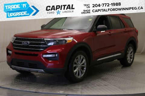 New 2020 Ford Explorer XLT*Navigation*Adaptive Cruise*Moonroof*Bench Middle Seat