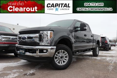 New 2019 Ford F-250 Gas XLT 4X4 Crew *FX4* *Power Driver Seat & Pedals* *Electronic Locking Diff* *AT Tires*