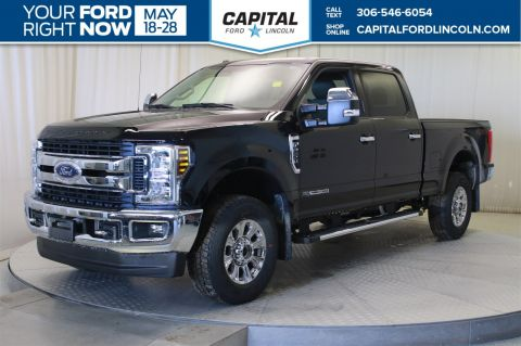 New 2018 Ford F-250 Diesel SuperCrew Pickup 4WD
